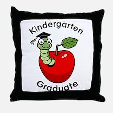Bookworm Kndergaten Graduate Throw Pillow