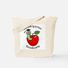 Bookworm Kndergaten Graduate Tote Bag