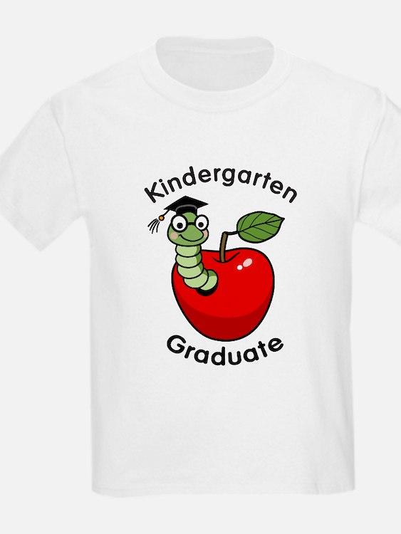 Bookworm Kndergaten Graduate T-Shirt