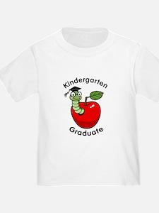 Bookworm Kndergaten Graduate T