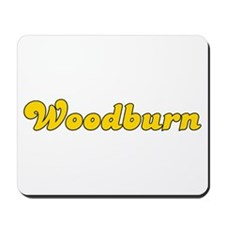 Retro Woodburn (Gold) Mousepad