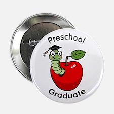 """Bookworm Preschool Graduate 2.25"""" Button (10 pack)"""