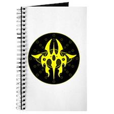 Tribal Medallion - Yellow Journal