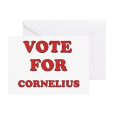 Vote for CORNELIUS Greeting Card