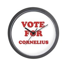 Vote for CORNELIUS Wall Clock