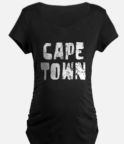 Cape Town Faded (Silver) T-Shirt