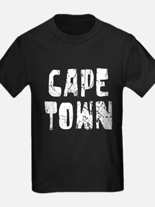 Cape Town Faded (Silver) T