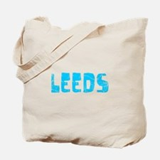 Leeds Faded (Blue) Tote Bag