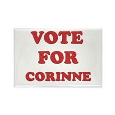Vote for CORINNE Rectangle Magnet