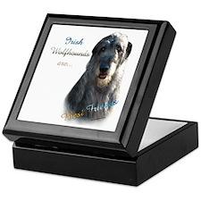 Wolfhound Best Friend 1 Keepsake Box