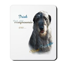 Wolfhound Best Friend 1 Mousepad
