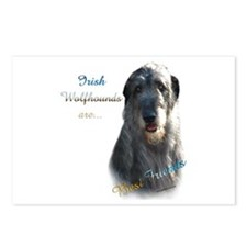 Wolfhound Best Friend 1 Postcards (Package of 8)