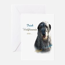 Wolfhound Best Friend 1 Greeting Cards (Pk of 10)