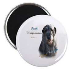 "Wolfhound Best Friend 1 2.25"" Magnet (10 pack)"