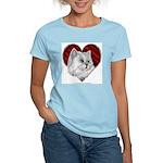 Persian Cat Heart Women's Light T-Shirt
