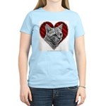 Bengal Cat Heart Women's Light T-Shirt