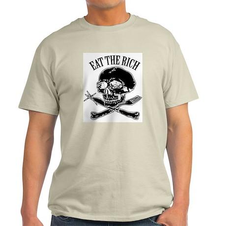 EAT THE RICH Light T-Shirt
