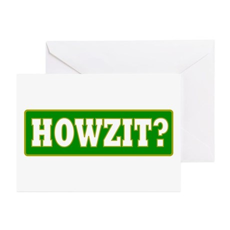 Howzit Greeting Cards (Pk of 10)