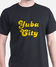 Retro Yuba City (Gold) T-Shirt