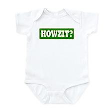 Howzit Infant Creeper
