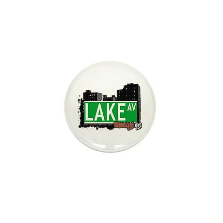 LAKE AV, BROOKLYN, NYC Mini Button (10 pack)