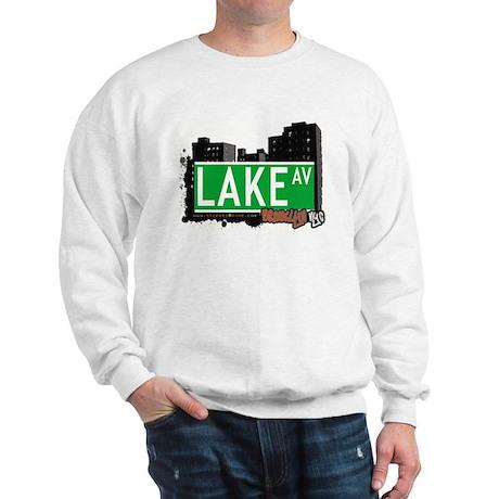 LAKE AV, BROOKLYN, NYC Sweatshirt