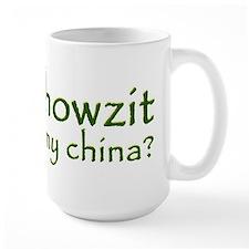 Howzit My China Coffee Mug