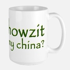 Howzit My China Mug