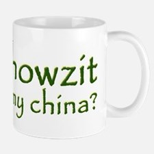 Howzit My China Mug