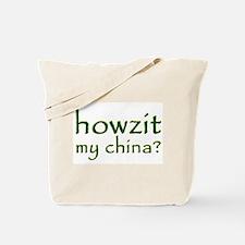 Howzit My China Tote Bag