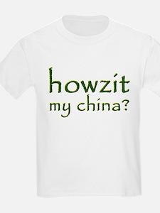 Howzit My China Kids T-Shirt