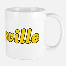 Retro Zanesville (Gold) Mug