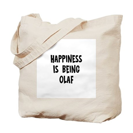 Happiness is being Olaf Tote Bag