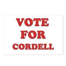 Vote for CORDELL Postcards (Package of 8)