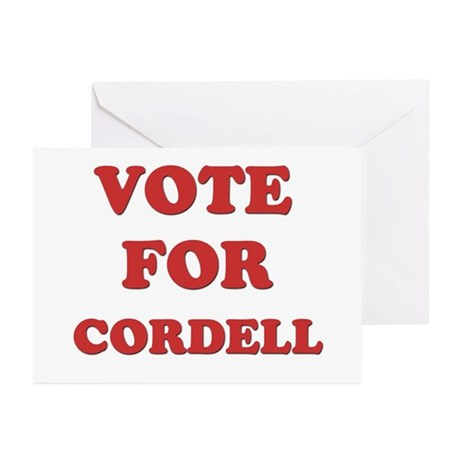 Vote for CORDELL Greeting Cards (Pk of 10)