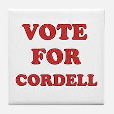 Vote for CORDELL Tile Coaster