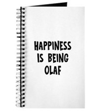 Happiness is being Olaf Journal