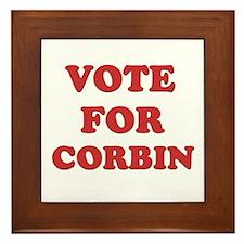 Vote for CORBIN Framed Tile