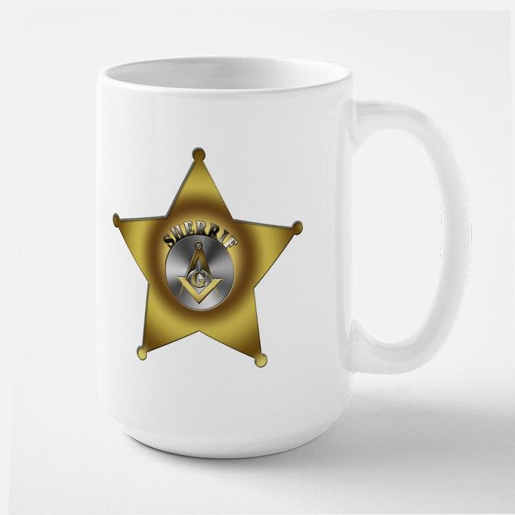 Masonic Sherrif Mug
