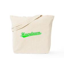 Retro Hueytown (Green) Tote Bag