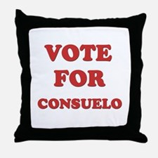 Vote for CONSUELO Throw Pillow