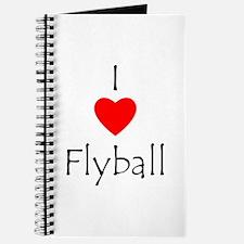 I Love Flyball Journal