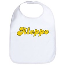 Retro Aleppo (Gold) Bib