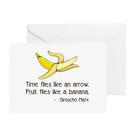 Time Flies Greeting Card