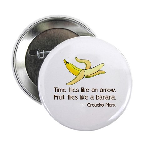"Time Flies 2.25"" Button (10 pack)"