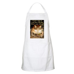 Whimsical Toad BBQ Apron