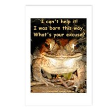 Whimsical Toad Postcards (Package of 8)