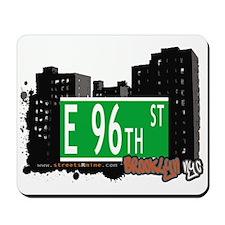 E 96th STREET, BROOKLYN, NYC Mousepad