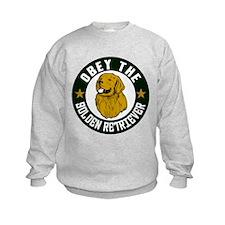 Obey The Golden Retriever Sweatshirt