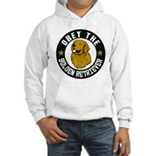 Obey The Golden Retriever Hoodie